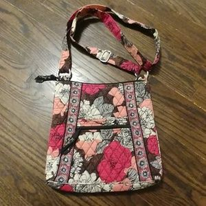 Large cross body Vera Bradley purse